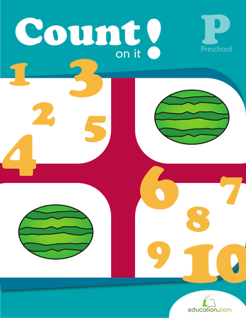 Preschool Reading & Writing Workbooks: Count On It!