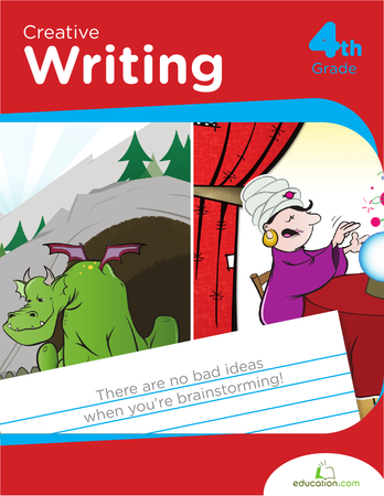 Fourth Grade Reading & Writing Workbooks: Creative Writing