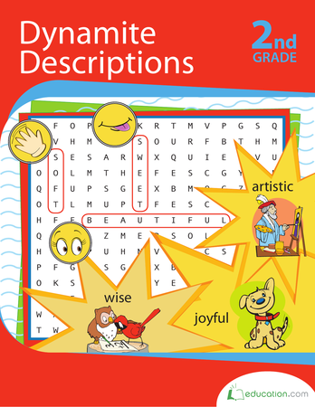 Second Grade Reading & Writing Workbooks: Dynamite Descriptions