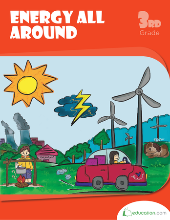 Third Grade Reading & Writing Workbooks: Energy All Around