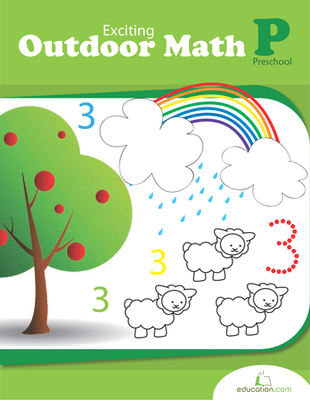 Preschool Math Workbooks: Exciting Outdoor Math