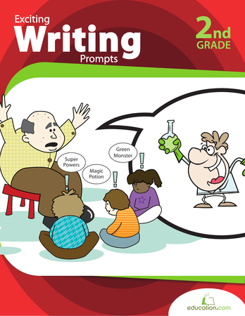 Second Grade Reading & Writing Workbooks: Exciting Writing Prompts