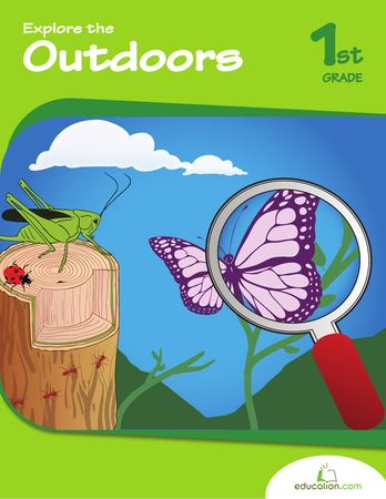 First Grade Reading & Writing Workbooks: Explore the Outdoors