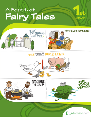 First Grade Reading & Writing Workbooks: A Feast of Fairy Tales