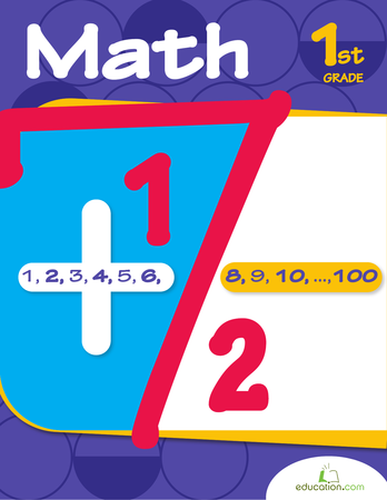First Grade Math Workbooks: First Grade Math