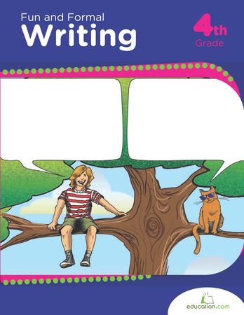 Fourth Grade Reading & Writing Workbooks: Fun and Formal Writing