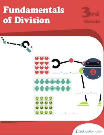 Third Grade Math Workbooks: Fundamentals of Division