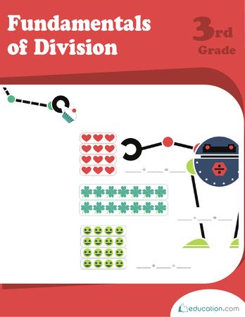 Third Grade Math Workbooks: Fundamentals of Division