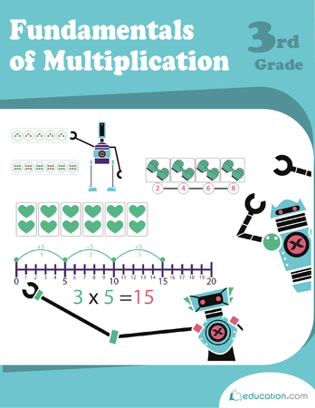 Third Grade Math Workbooks: Fundamentals of Multiplication