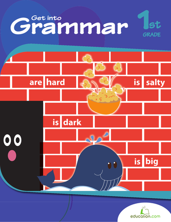 First Grade Reading & Writing Workbooks: Get into Grammar