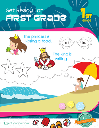 Get Ready For First Grade Workbook Education