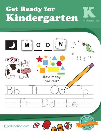 Kindergarten Workbooks | Education.com