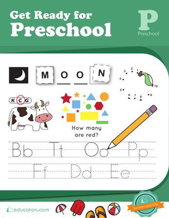 Preschool Reading & Writing Workbooks: Get Ready for Preschool