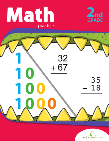 Second Grade Math Workbooks: Second Grade Math Practice