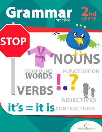 Second Grade Reading & Writing Workbooks: Grammar Practice