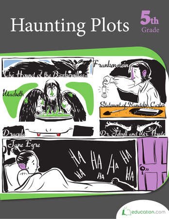 Fifth Grade Reading & Writing Workbooks: Haunting Plots