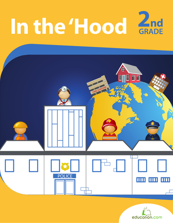 Second Grade Reading & Writing Workbooks: In the 'Hood
