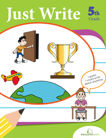 Fifth Grade Reading & Writing Workbooks: Just Write