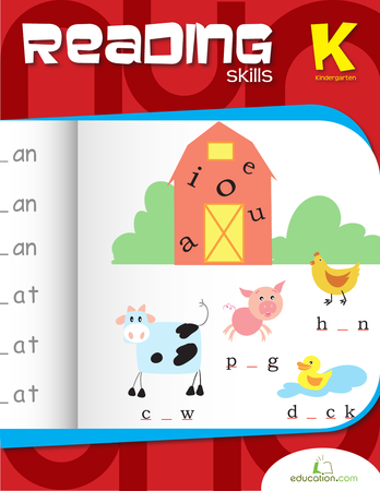 Kindergarten Reading & Writing Workbooks: Kindergarten Reading Essentials