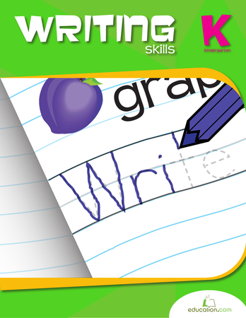 Kindergarten Reading & Writing Workbooks: Kindergarten Writing Skills