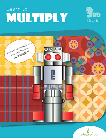 Third Grade Math Workbooks: Learn to Multiply