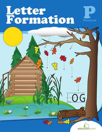 Letter Formation | Workbook | Education.com