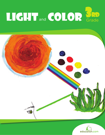 Third Grade Science Workbooks: Light and Color