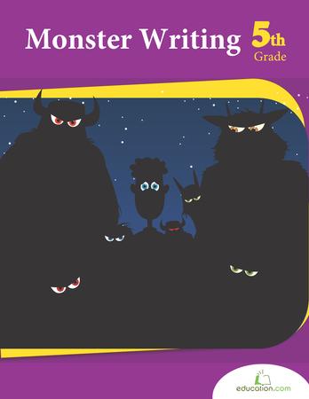 Fifth Grade Reading & Writing Workbooks: Monster Writing