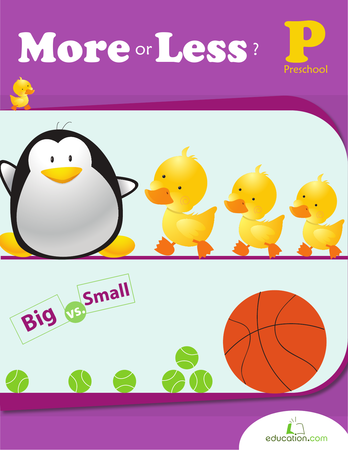 Preschool Math Workbooks: More or Less?