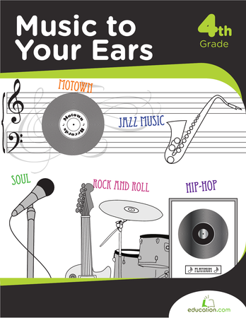 Fourth Grade Reading & Writing Workbooks: Music to Your Ears