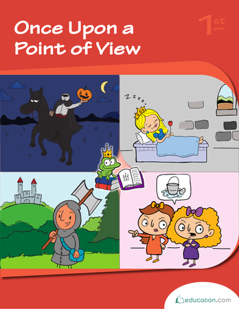 First Grade Reading & Writing Workbooks: Once Upon a Point of View