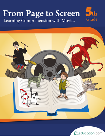 Fifth Grade Reading & Writing Workbooks: From Page to Screen