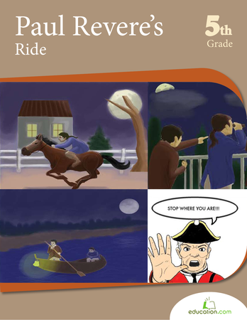 Fifth Grade Reading & Writing Workbooks: Paul Revere's Ride