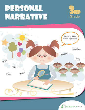 Third Grade Reading & Writing Workbooks: Personal Narrative Writing
