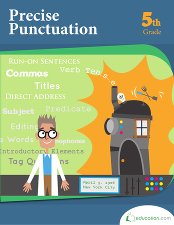 Fifth Grade Reading & Writing Workbooks: Precise Punctuation