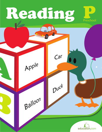 Preschool Reading & Writing Workbooks: Preschool Reading
