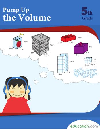 Fifth Grade Math Workbooks: Pump Up the Volume