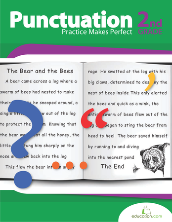 Second Grade Reading & Writing Workbooks: Punctuation Practice Makes Perfect