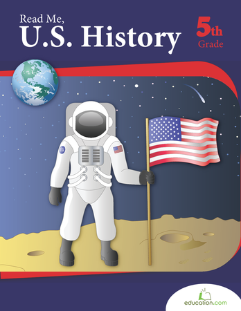 Fifth Grade Reading & Writing Workbooks: Read Me, U.S. History