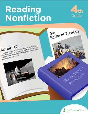 Fourth Grade Reading & Writing Workbooks: Reading Nonfiction