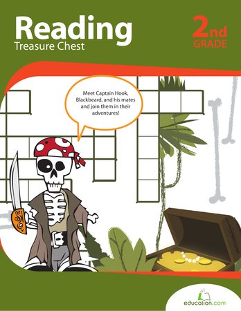 Second Grade Reading & Writing Workbooks: Reading Treasure Chest