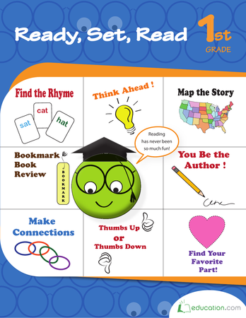 First Grade Reading & Writing Workbooks: Ready, Set, Read