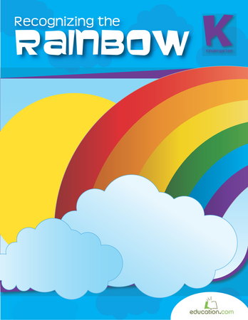 Kindergarten Reading & Writing Workbooks: Recognizing the Rainbow