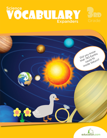 Third Grade Reading & Writing Workbooks: Science Vocabulary Expanders