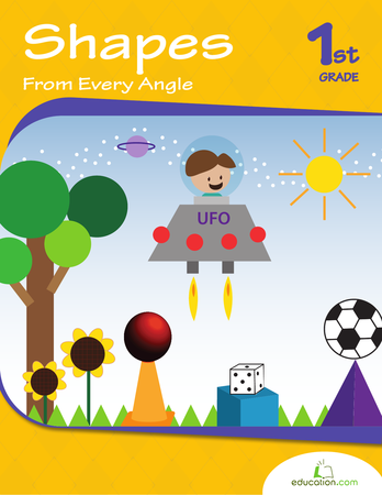 First Grade Math Workbooks: Shapes From Every Angle