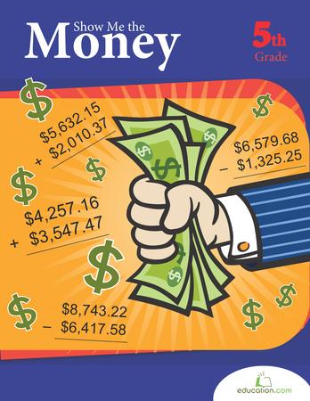 Fifth Grade Math Workbooks: Show Me the Money