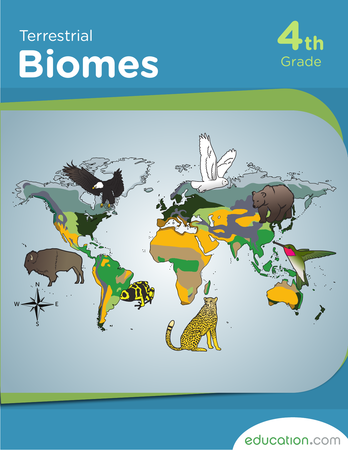 Fourth Grade Reading & Writing Workbooks: Terrestrial Biomes