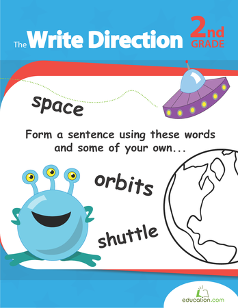 Second Grade Reading & Writing Workbooks: The Write Direction