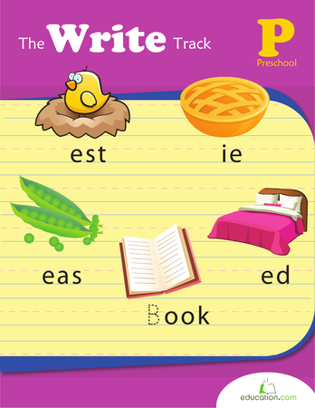 Preschool Reading & Writing Workbooks: The Write Track