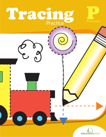 Preschool Reading & Writing Workbooks: Tracing Practice for Preschool